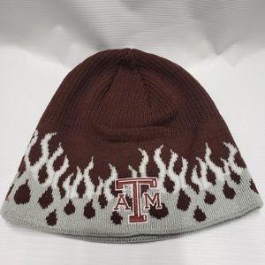 Texas A&M Beanie Maroon Hat Adidas New